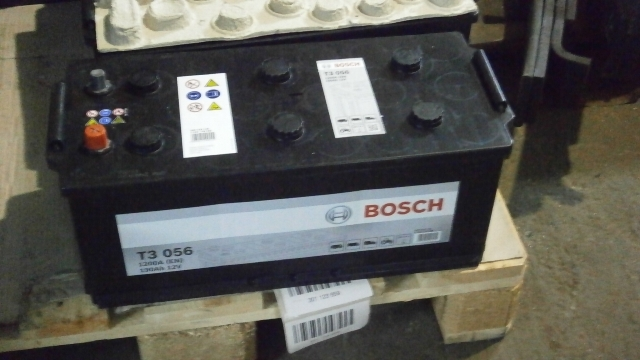 АКБ BOSCH T3 190Ah, 1200А +справа - Фото