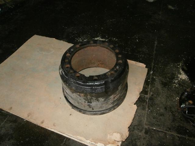 Барабан тормозной задний МАЗ-6430,6516А8 (МАЗ), б/у - Фото