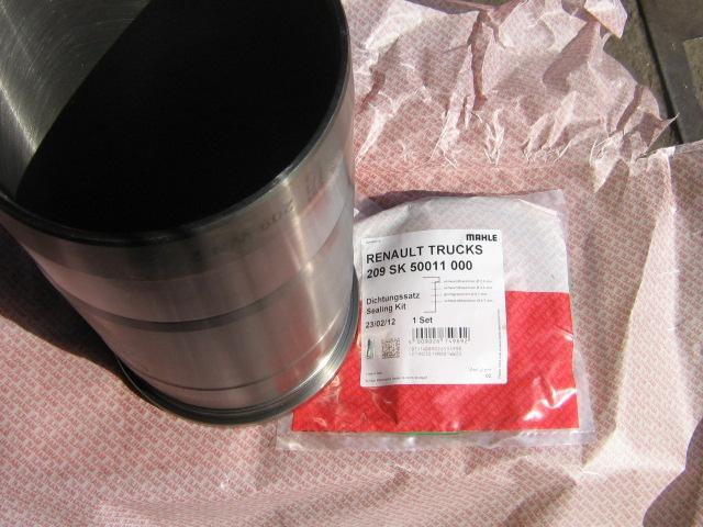 Гильза цилиндра ЯМЗ-650.10 без уплотнительных колец - Фото