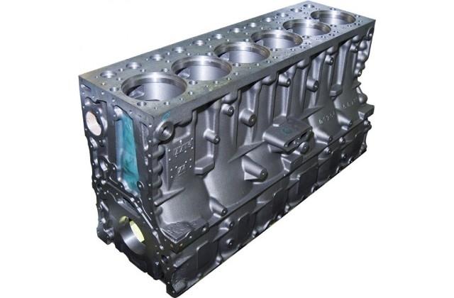 Блок цилиндров ЯМЗ 536 (гильзованный)
