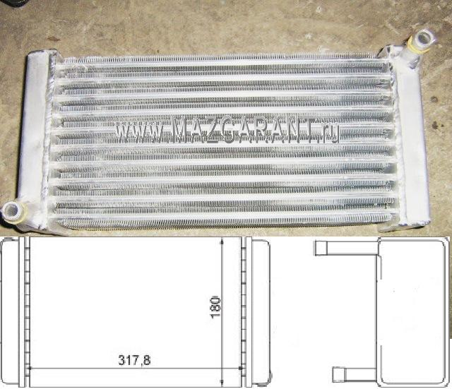 Радиатор отопителя - Фото