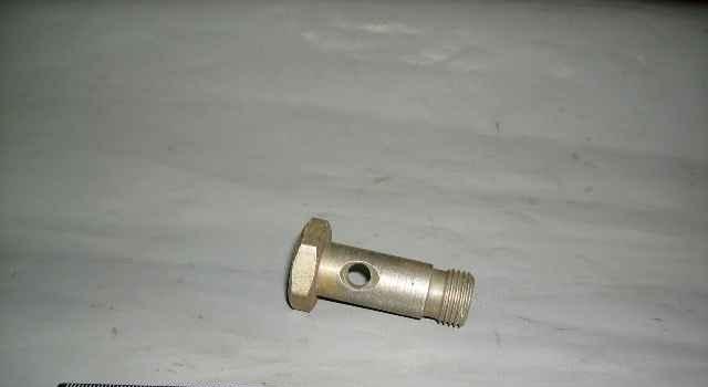 Болт приводной рулевого механизма - Фото
